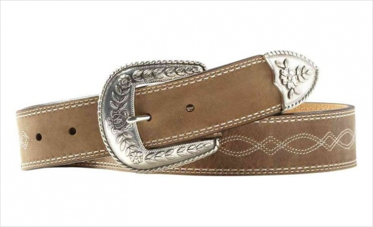 Women's Distressed Leather Belt