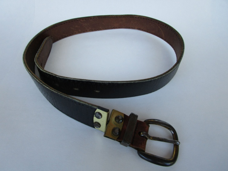 Rustic Leather Belt Design