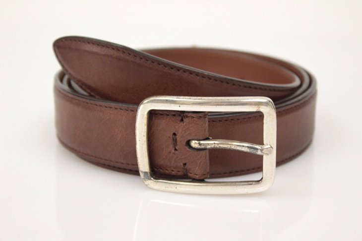 Brunello Cucinelli Distressed Leather Belt