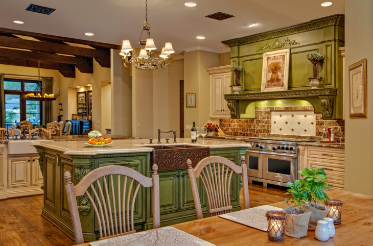 Rustic Kitchen Interior Idea