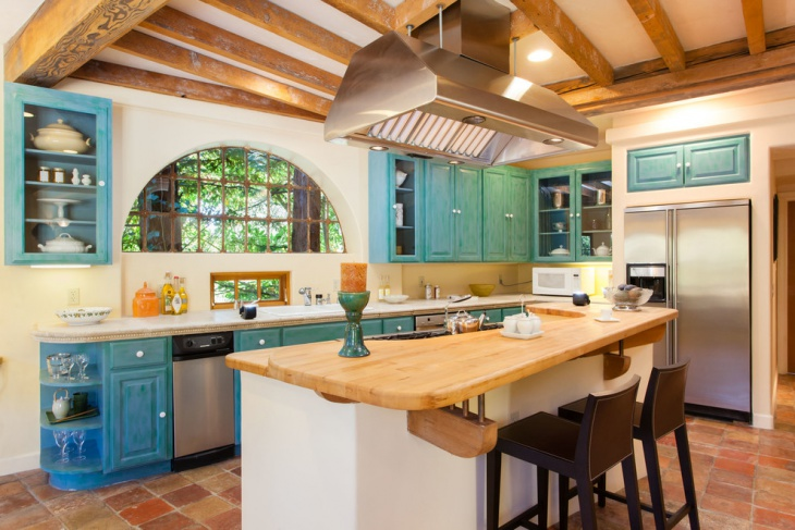 Coffered Ceiling Idea for Kitchen