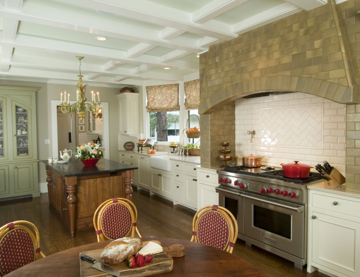Farmhouse Kitchen Decorating Idea