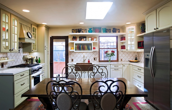 Eclectic French Country Kitchen