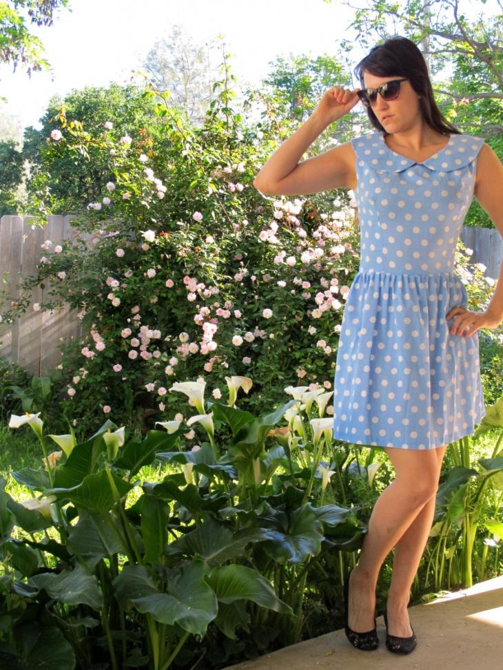 Polka Dots Bubble Dress