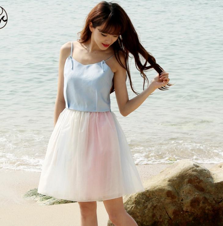 Summer Bubble Skirt