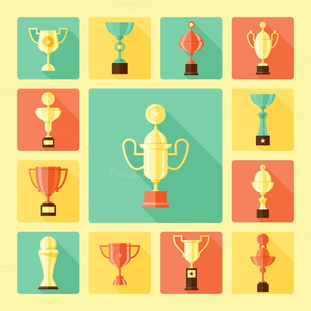 Trophy Cup Icons