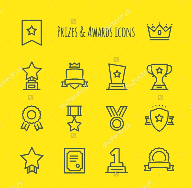 Prizes and Award Icons