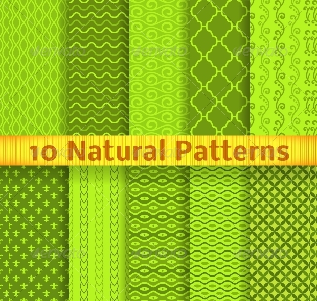 natural seamless patterns