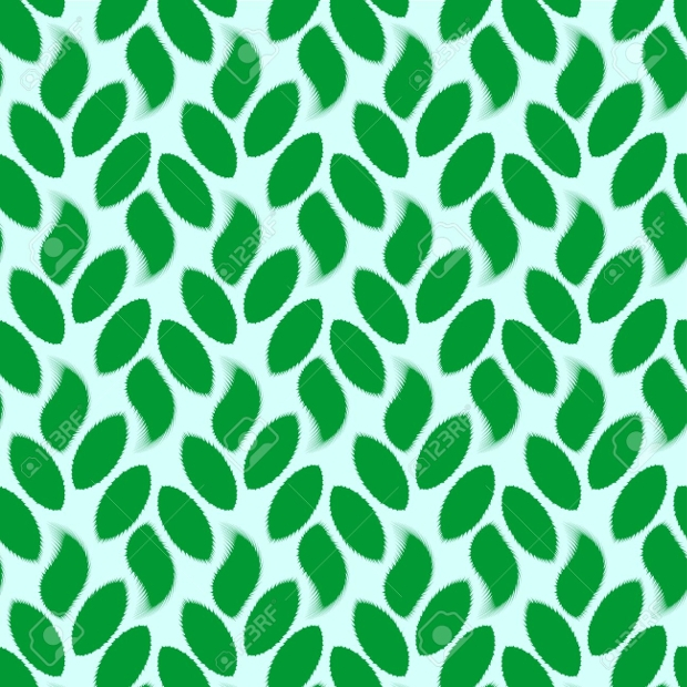 nature leaf seamless pattern