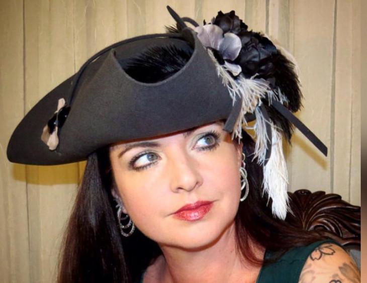 Black Tricorn Hat