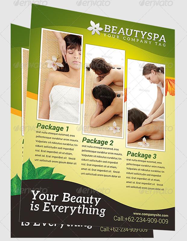 Spa & Massage Flyer