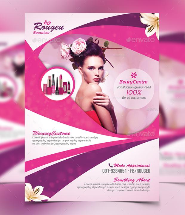 Massage Ad Flyer Design