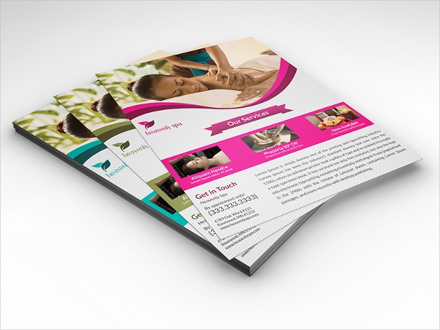 Stylish Spa Flyer