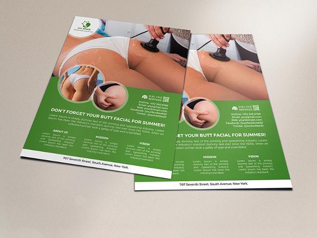 Butt Massage Flyer