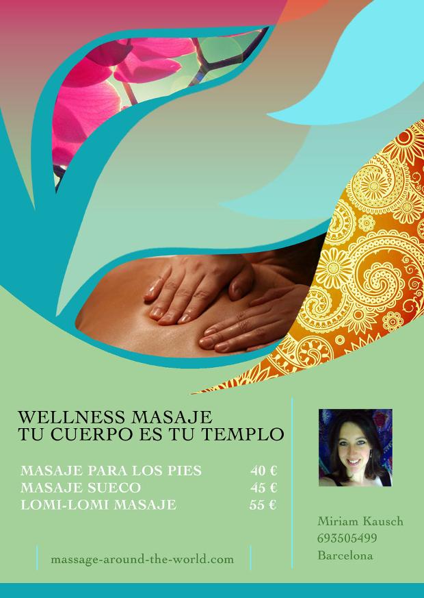 Wellness Massage Flyer