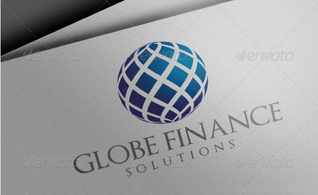 global finance logo design