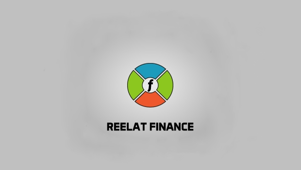 reelat finance logo design