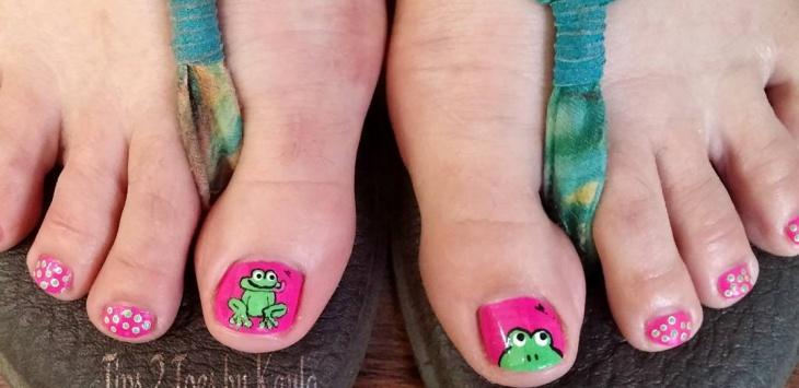 15 frog nail art designs ideas design trends premium psd frog toe nail art prinsesfo Choice Image