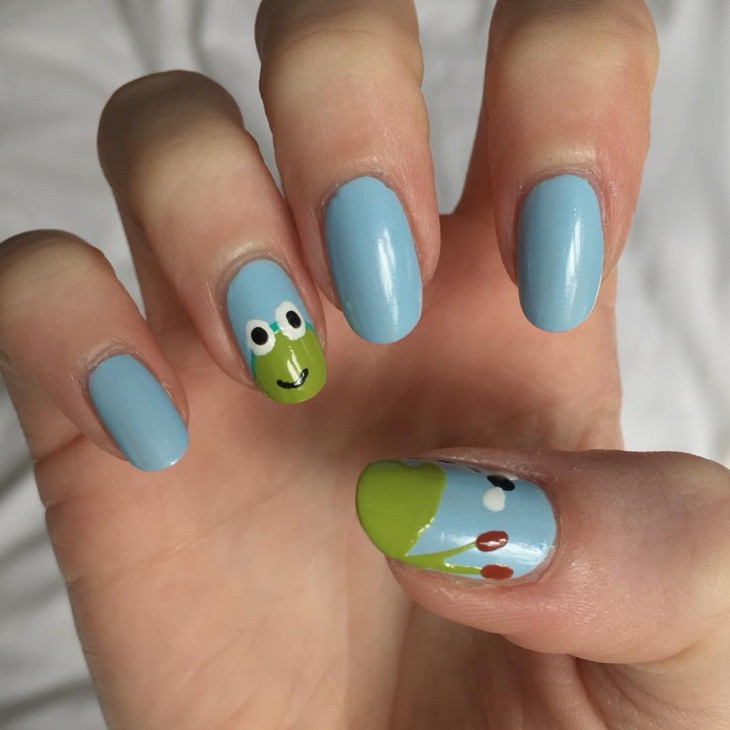 15+ Frog Nail Art Designs, Ideas | Design Trends - Premium PSD ...