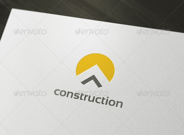 construction business logo design