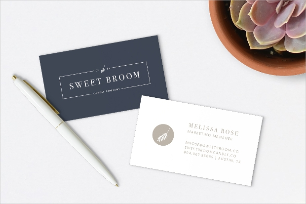 business card logo design