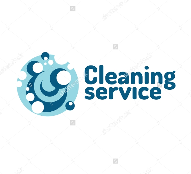 business logo design for cleaning