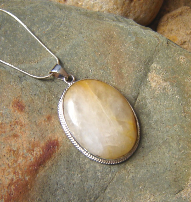 Large Oval Pendant
