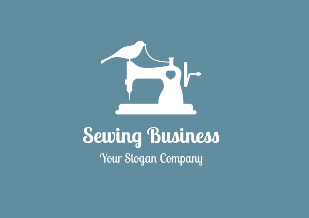 sewing business logo