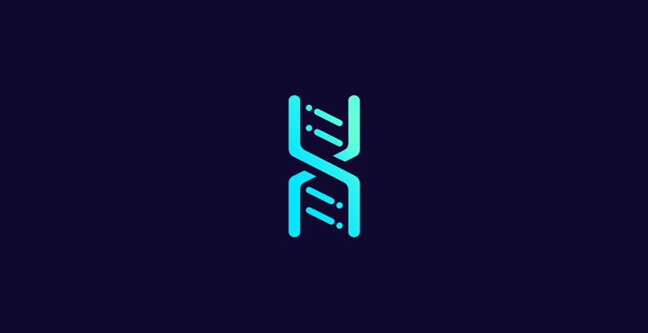 dna data line logo by nobuaki honma