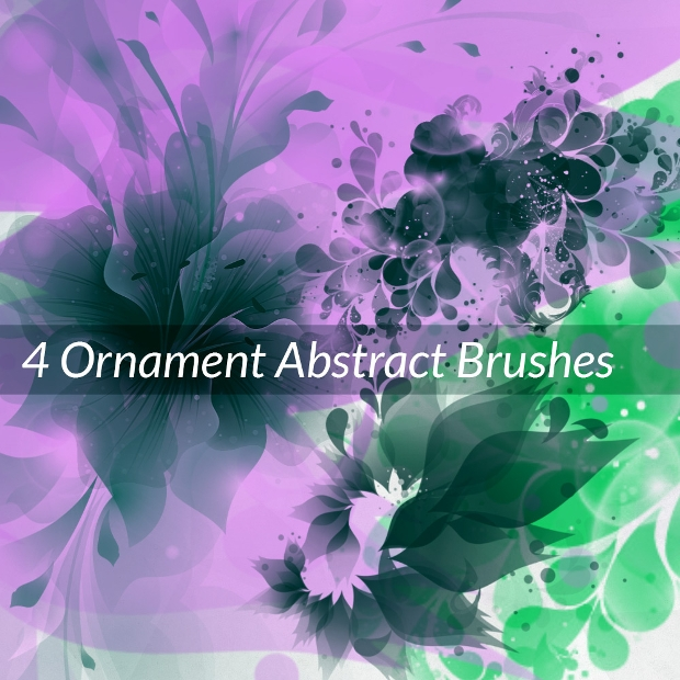 Ornament Abstract Brushes