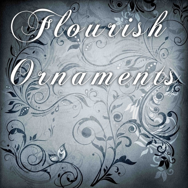 flourish ornament brushes