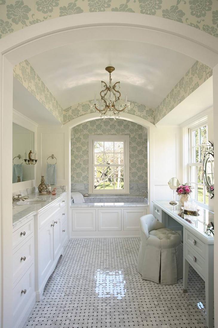 Gloss Laminate Bathroom Flooring