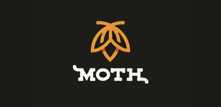 Moth Logo by Nick Kumbari
