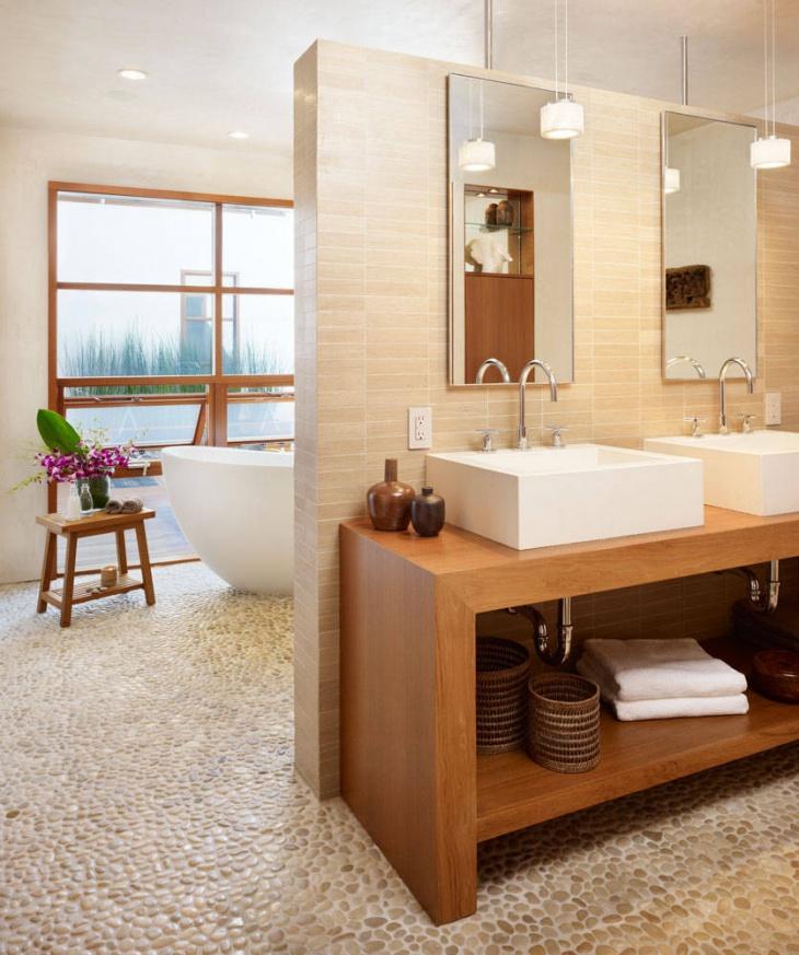 stone laminate flooring bathroom