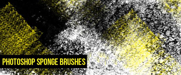 grunge sponge brushes