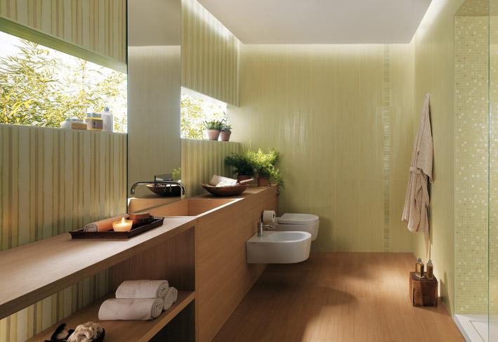 oak wood bathroom laminate flooring