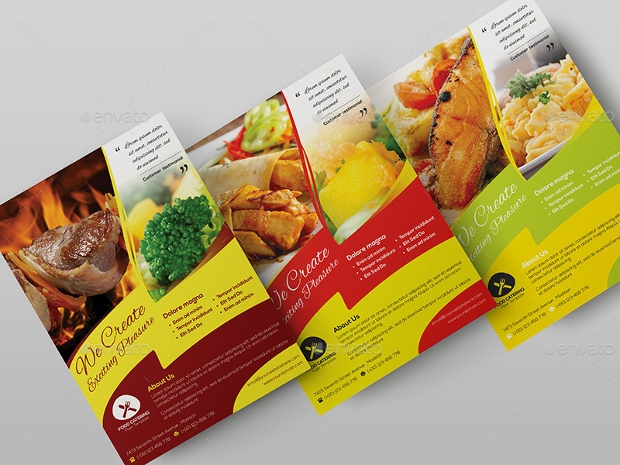 catering flyers samples