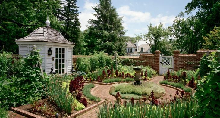 20 Rustic Garden Designs Ideas Design Trends Premium Psd