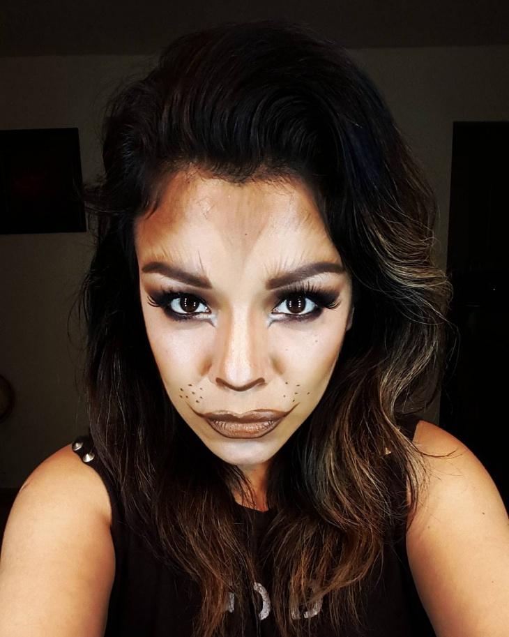 she wolf makeup design