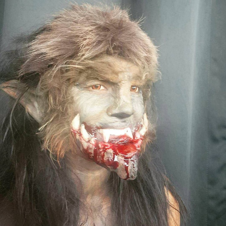 wolf cosplay makeup design