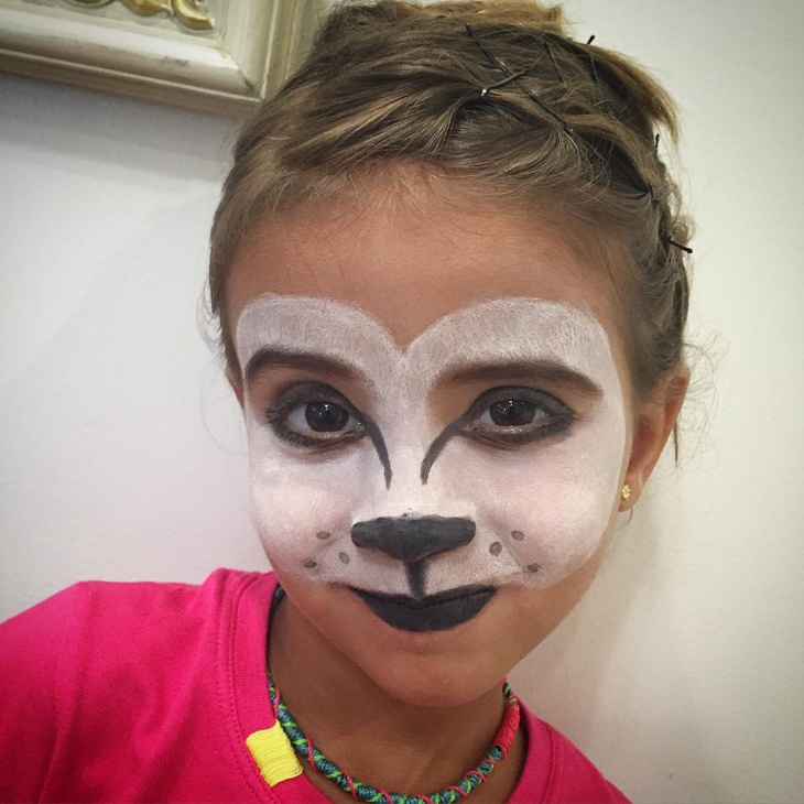 Wolf Makeup for Kids