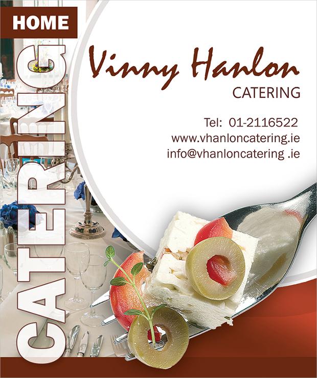 Vinny Hanlon Catering Flyer