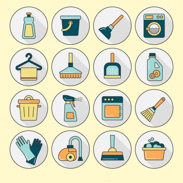 cleaning produc icons