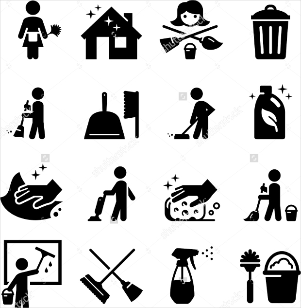maid service icons