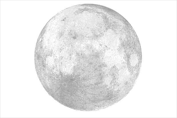 Silver Moon Texture
