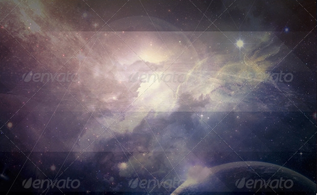 Galaxy and Planet Texture