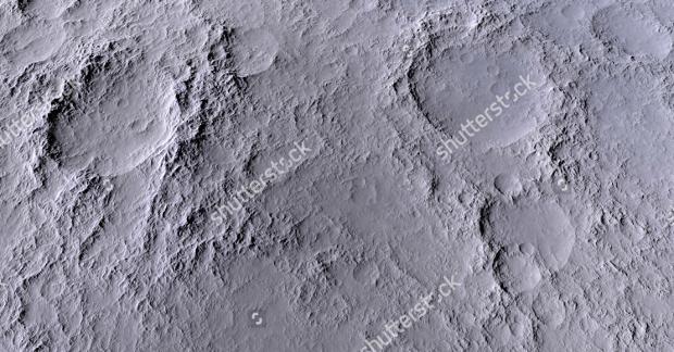 High Resolution Moon Texture