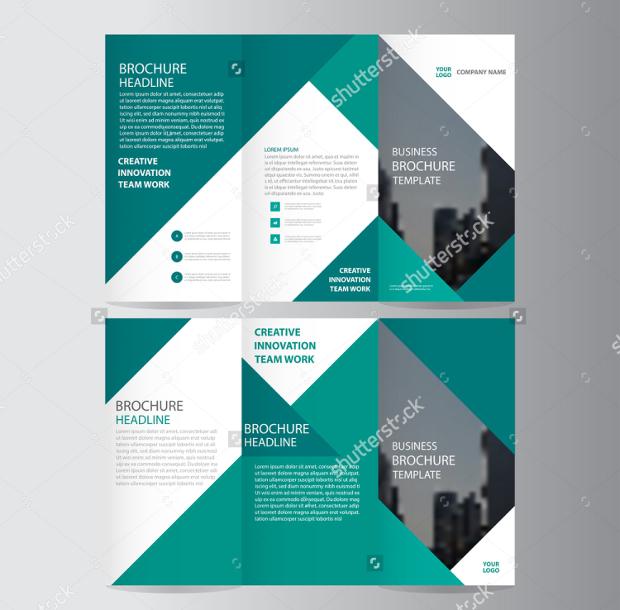Green Elegant Trifold Brochure