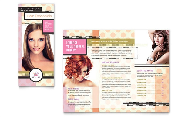 Hair Stylist Brochure