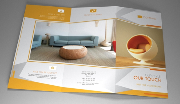 A4 Indesign Brochure Template